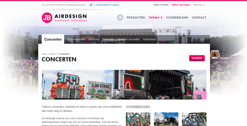 Website JB Airdesign