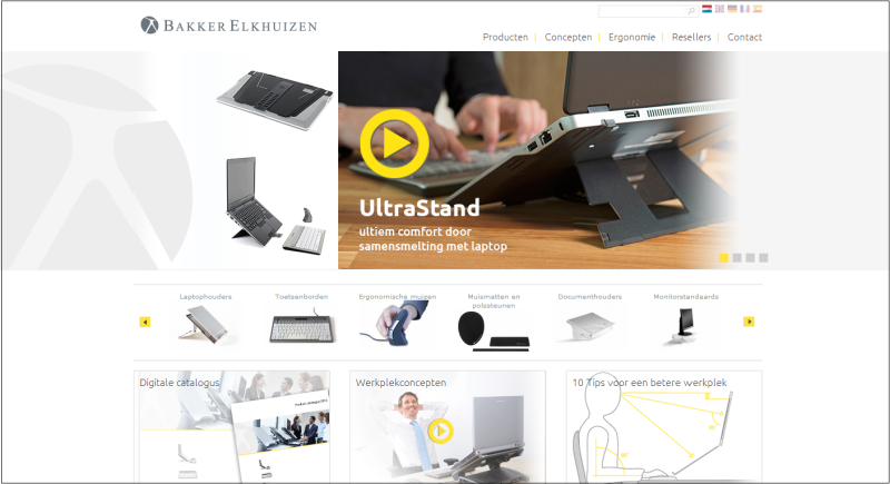 Nederlandse website van BakkerElkhuizen