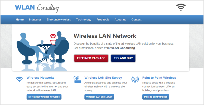 Website LANCOM-Systems Engeland