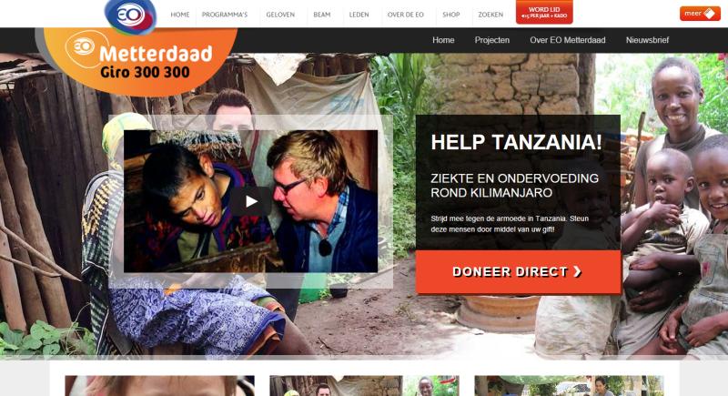 Nieuwe website EO Metterdaad