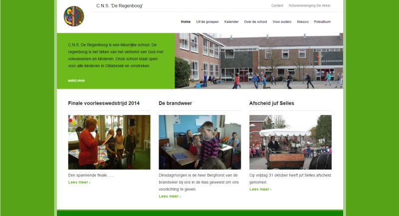 nieuwe websites De Akker
