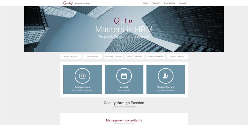 Nieuwe website Quintop