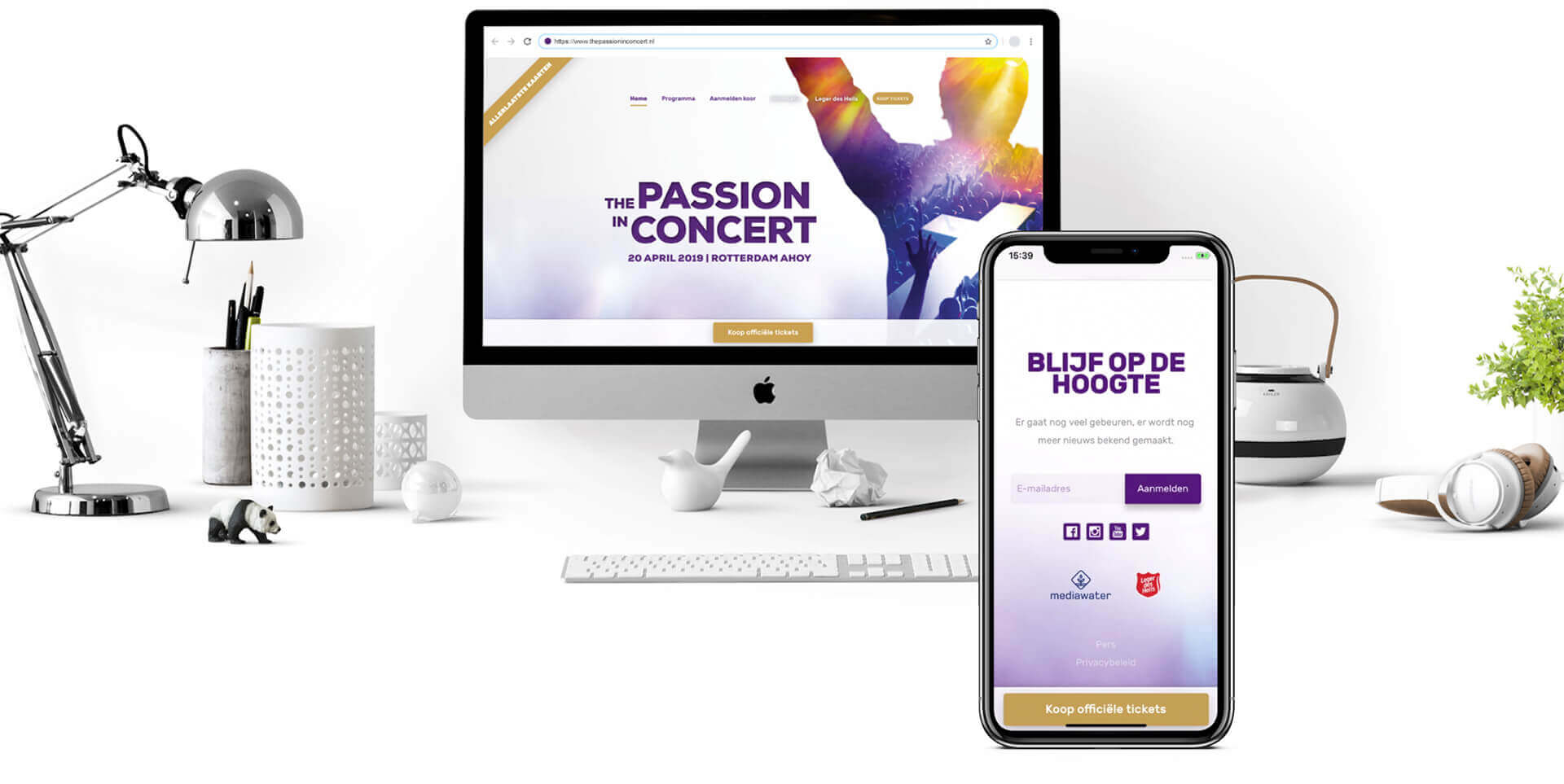 The Passion in Concert website